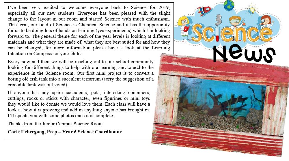 Science News T1 2019